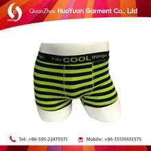underwear green cartoon printed underwear men sexy boxers briefs export to IRQ