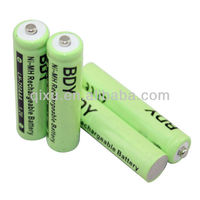 Top selling 1.5v aa ni-mh rechargeable battery