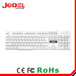ABS plastic material keyboard with usb mechanical keyboard