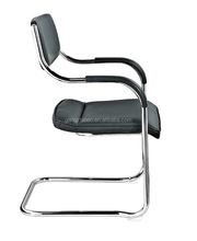 perfect design studying chair with armrest PU paded AH-33