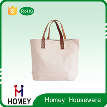 2015 Newest Good Quality Cheap Price Personalized Fabric Canvas Leather Bag