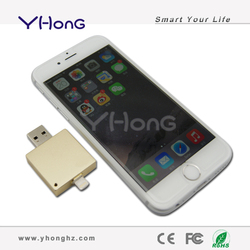 USB flash drive for iPhone/iPad/iTouch, built-in Taiwan chip pen drive, upgrade usb flash drive 64gb usb 2.0