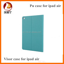 Cool design tablet case for iPad air 2 PU case for apple iPad 6 tablet protective cover case
