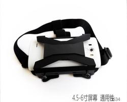 2015 Virtual Reality 3d glasses tv for hot blue films video 3gp mobile movies OEM factory for google cardboard glasses f