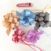 Glitter gift wrap pull bows for decoration