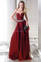2015 Fashion Design Sweetheart Sleeveless Burgundy Crystal Fabric B'Dazzle prom dress 35692 Latest-Dress-Designs-Photos