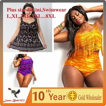 Sexy Plus Size Swimwear One Piece Swimsuit Dress Bathing Suits Swim Wear Swimming Suit for Women Swimdress