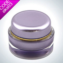 Cosmetic sample packaing/containers for hair product/packing for beauty cream