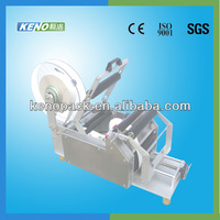 KENO semi auto round bottle labeler machinery
