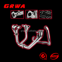 FOR 98-02 ACCORD V6 CG J30A T3 PERFORMANCE TURBO CHARGER MANIFOLD EXHAUST KIT