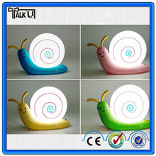 Creative snail shape Led USB kids night lantern/lamp/light for bedroom