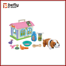 Cute plastic pet toy for kids play
