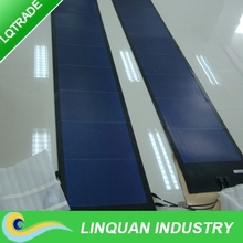 72W adhesive back thin film flexible solar panel