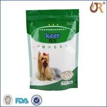 Quad seal food pet pouch/Plastic dog food bag/Animal feed bag