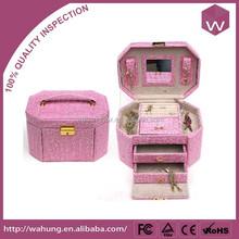 Exquisite multi-layer girls jewellery box(WH-3191-2-JP)