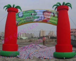 best inflatable arch on promotion/ perfect advertising event arch inflatable for sale