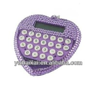 wholesale purple heart shaped scientific calculator