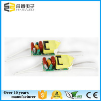 LED E17 GU10 bulb light driver 4W 5W PF0.95 300mA 550mA 150mA constant current power of led