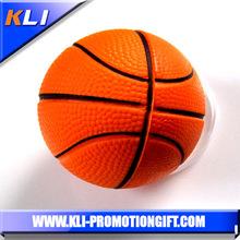 Basketball shaped anti stress Reliever Toys Pu stress ball basketball
