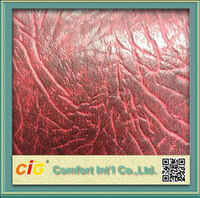 Good Quality Decorative 2 Color Tone Artificial Leather