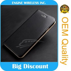 alibaba china gold suppliers leather case with window for iphone 5
