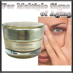 Plant Extract Anti Wrinkle Whitening Cream with Free Sample