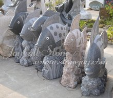 Jardín decoraciones animales, Estatuas de pescado