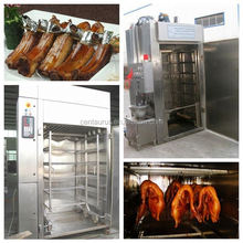 New type multifunctional stainless steel meat smoke house with high efficient low consumption