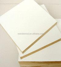 white melamine MDF board / white board / white laminated board