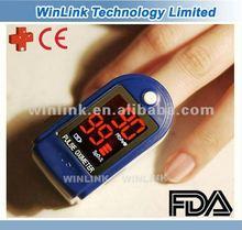 2012 speical design CE&FDA certified SpO2 pulse oximeter finger