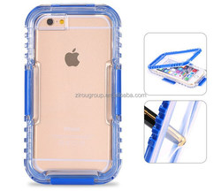 Waterproof Case Diving Underwater Watertight Cover For Iphone 6 4.7inch/5.5inch Plus Hard PC+TPU Full Clear Waterproof