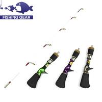 Top Quality Mini Fishing Rod 75cm 90g Ice Fishing Rod Portable Fish Pole Ice Fishing