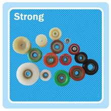 China OEM made Pom roller plastic pulley for aluminum sliding door
