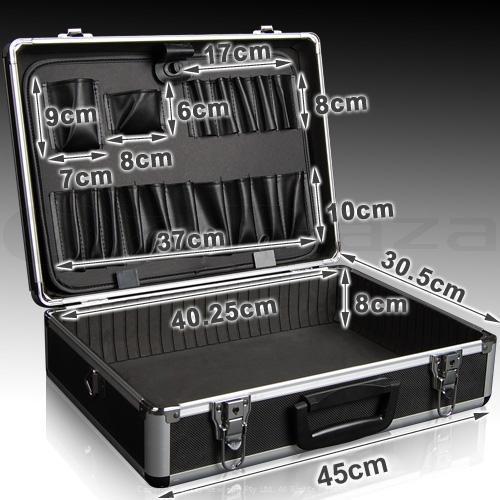 Barber Road Storage : Fashion black diamond aluminum case,aluminum barber tool case