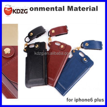 latest design mobile phone case for apple iphone6 plus with lanyard