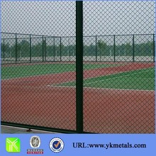High quality fence product of Galvanized Diamond Wire Mesh Fence