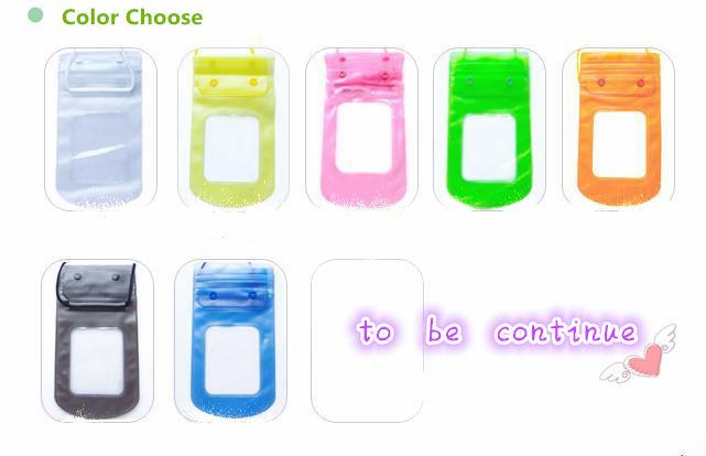 Customized waterproof cellphone bag