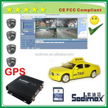 South Africa vehicle markets 1 or 2 SD card MDVR for installer wholesaler distributor project