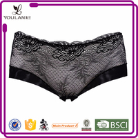 Top Sale Cute Goddess Flower Lace Girls In Mini Panty