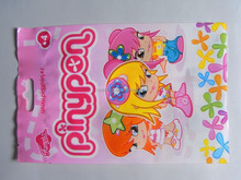 beautiful designed laminated plastic toy goodie bag for packaging