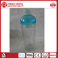 750ML Round mouth plastic sport water bottle