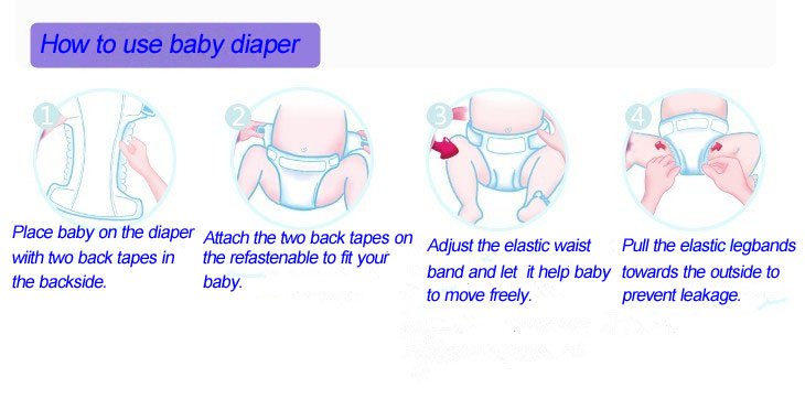 how to clean baby boy diaper