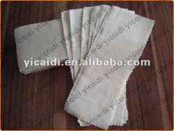 Disposable depilatory cotton strips for beauty use and salon use