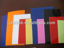 Thin abs plastic plate 2.0-5.5mm thickness abs sheet