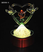japanese sex cartoon nude girl scale resin figure 2015 with heart and led light