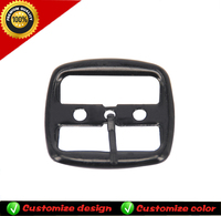 Factory supply custom adjustable belts buckles for shoes