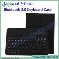 Univeral Bluetooth 3.0 Wireless 8 Inch Tablet PC Case with Keyboard