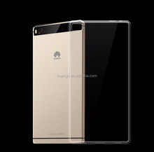 For Huawei P8 Max Ultra Thin TPU Case , Soft Clear Tranparent Crystal Gel Silicone Back Cover Case For Huawei P8 Max