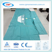 Universal pack with surgical T.U.R drape , surgical, disposable