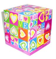 TThe cheap Cube Box Printed Tissue for promotion for gifts